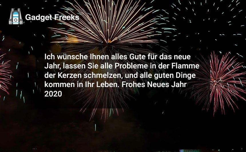 Frohes Neues Jahr 2020 Grüße