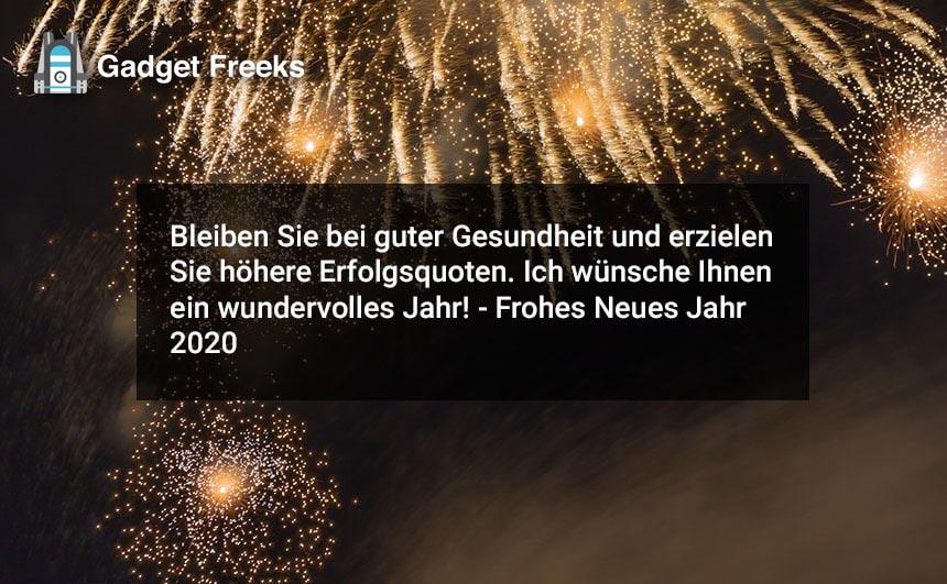 Frohes Neues Jahr 2020 Nachrichten