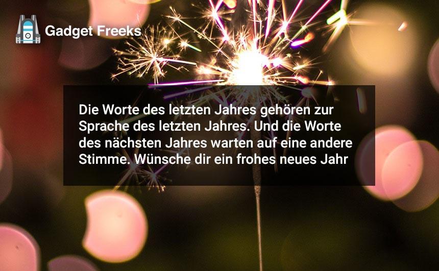 Frohes Neues Jahr Grüße