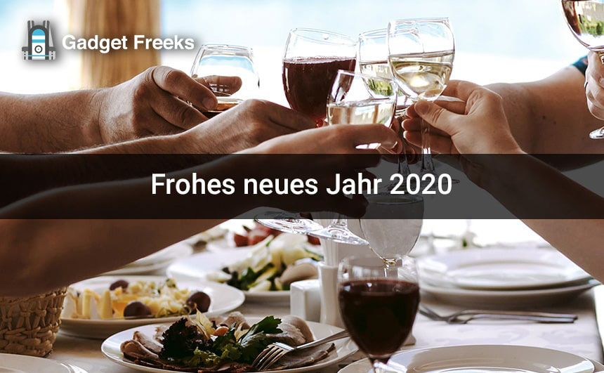 Frohes neues Jahr 2020 Fotos
