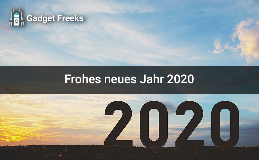 Gutes neues jahr 2020 gif