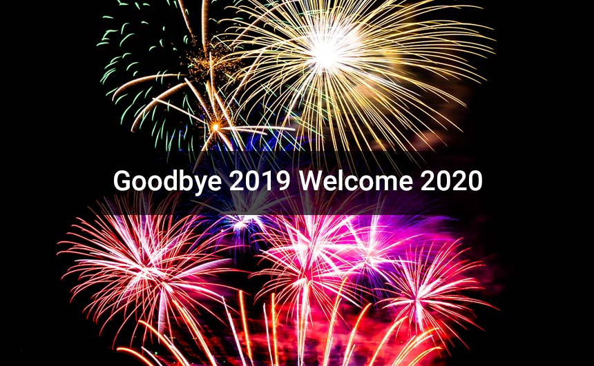 Goodbye 2019 Welcome 2020 Images