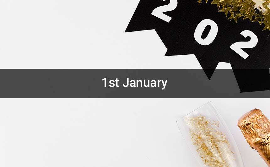 Happy 1st January Photos