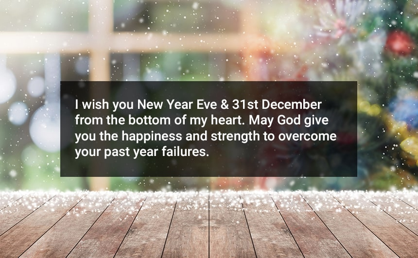 Happy 31st December Wishes