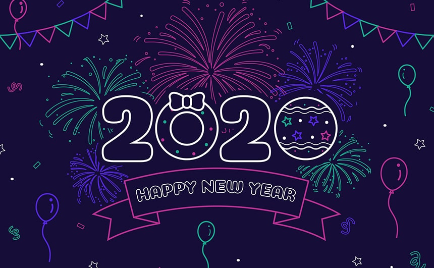 Happy New Year 2020 Images for Whatsapp