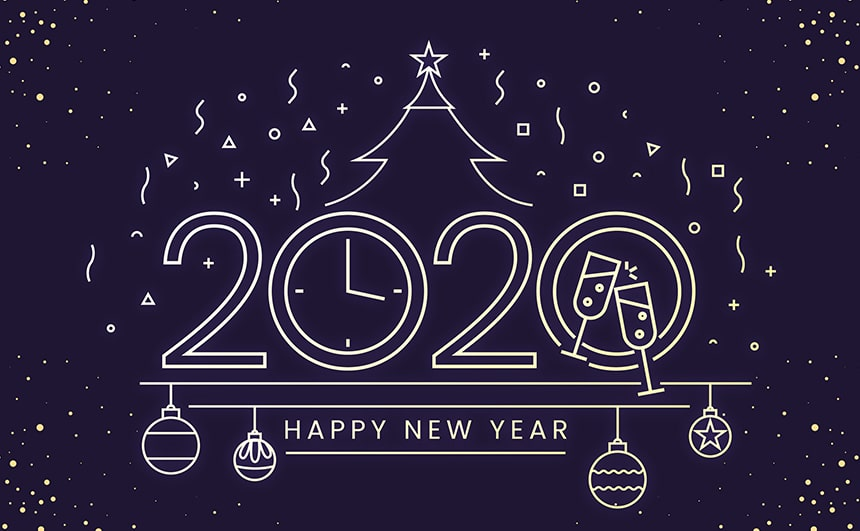 Happy New Year 2020 Pictures Animated Gif Images With