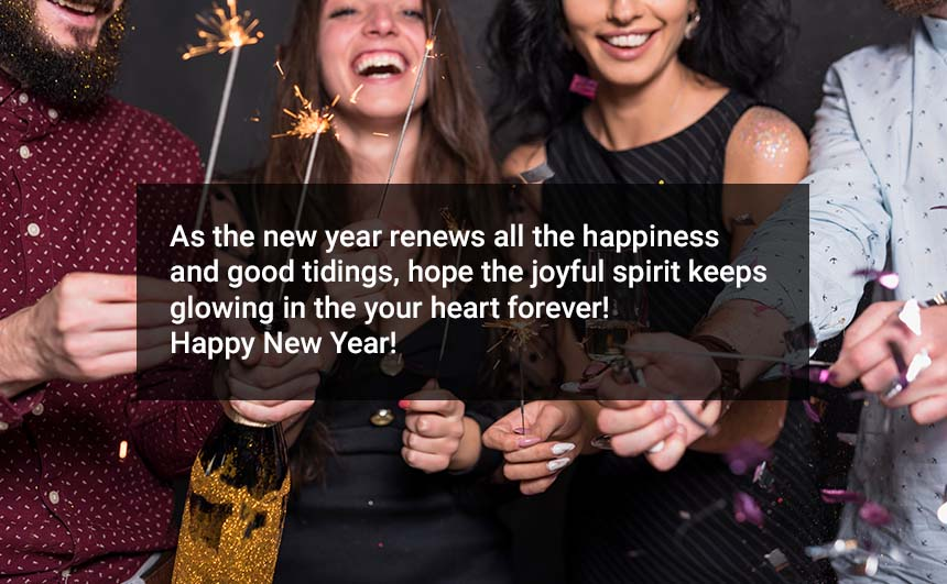 Happy New Year 2020 Quotes for friends & Family
