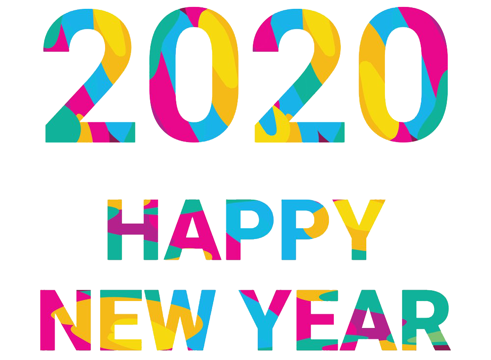 Happy New Year 2020 Sticker