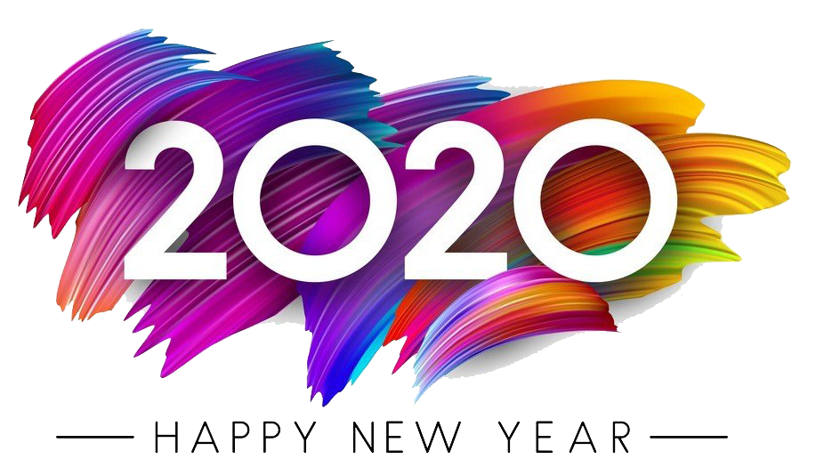 Happy New Year 2020 Stickers