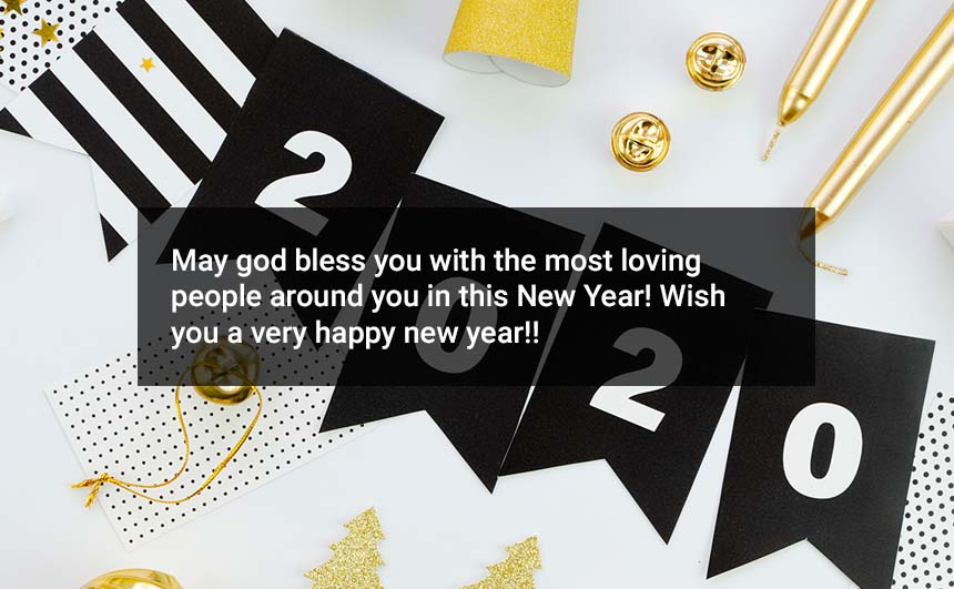 Happy New Year 2020 Wishes For Family Friends Wife