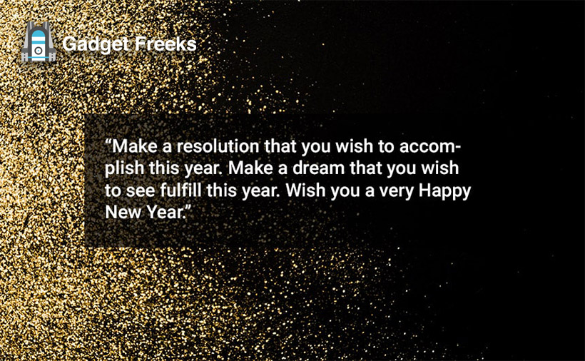 Happy New Year Messages for Friends & Family