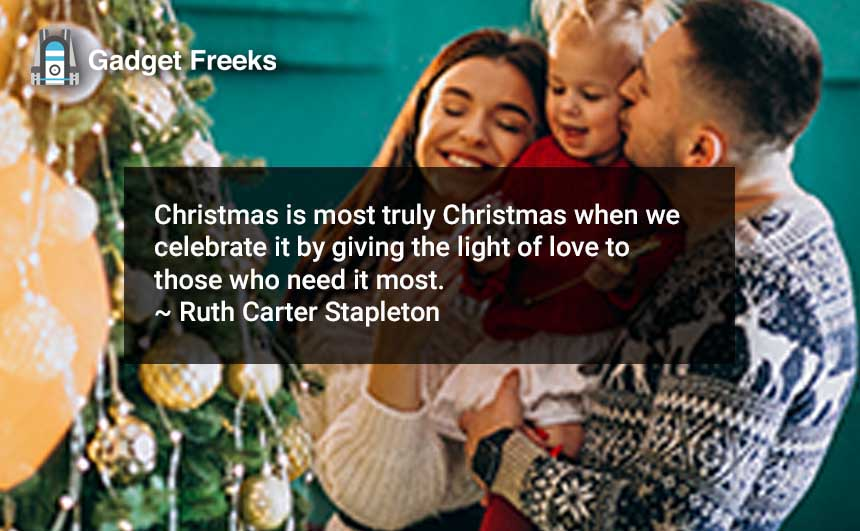 Merry Christmas Quotes for Family & Friends
