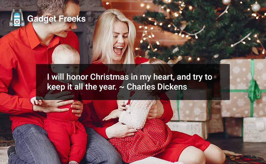 Merry Christmas Quotes for Wife & Husband