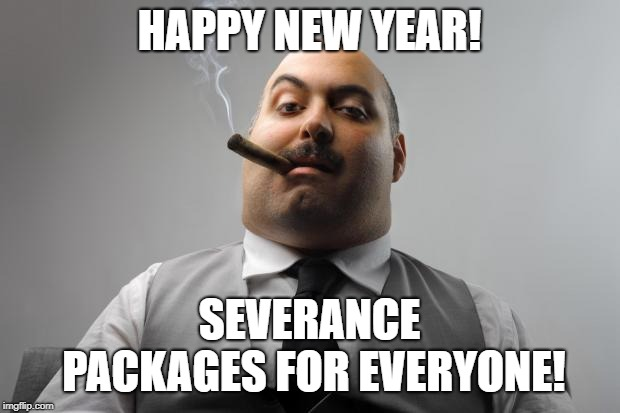 New Year 2020 Meme with message