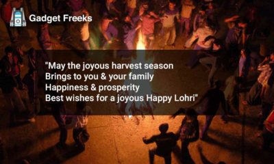 Happy Lohri Status