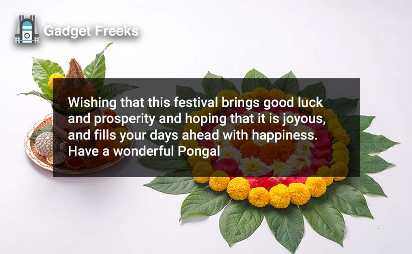 Happy Pongal 2020 Wishes
