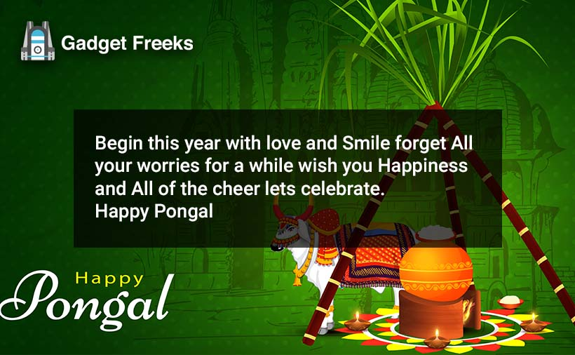 Happy Pongal Quotes
