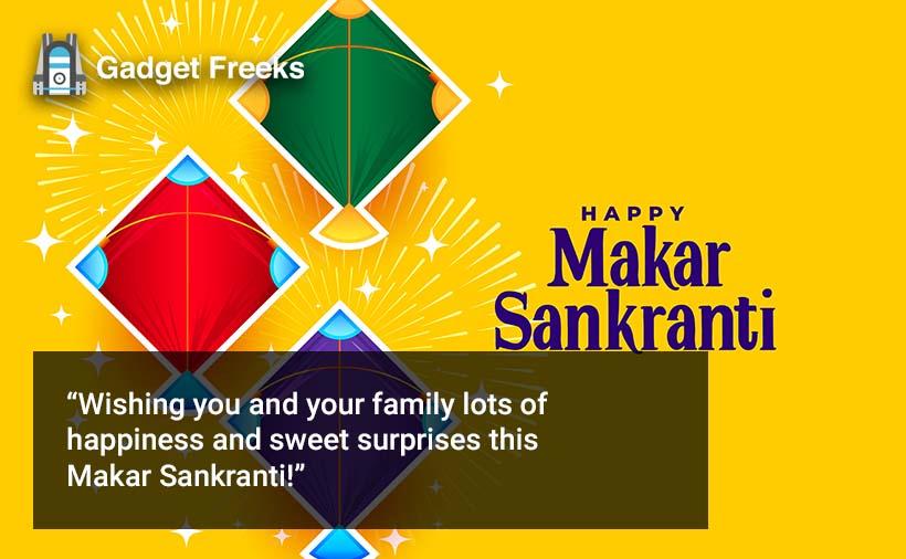Makar Sankranti Wishes for Friends & Family