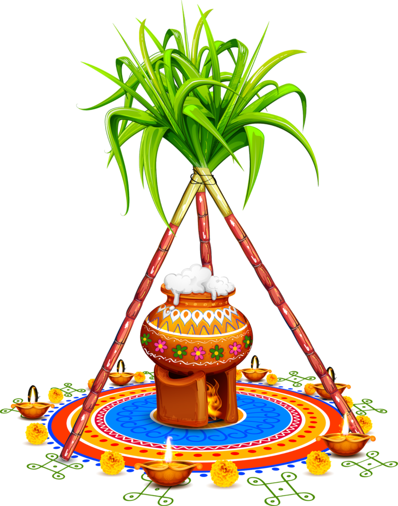Pongal Sticker