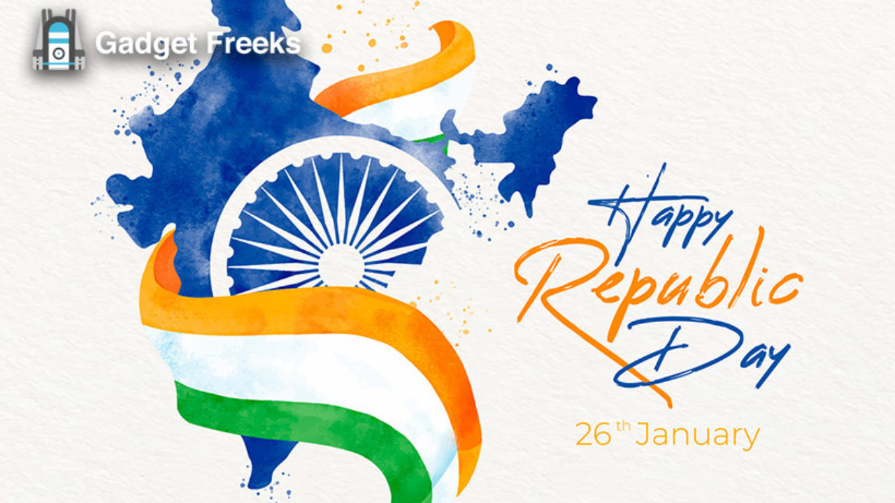 Happy 71st Republic Day 2020 Images Gif Hd Pictures Photos Whatsapp Dp To Share On 26th January 2020 Gadget Freeks Gif happy republic day 2021 gift