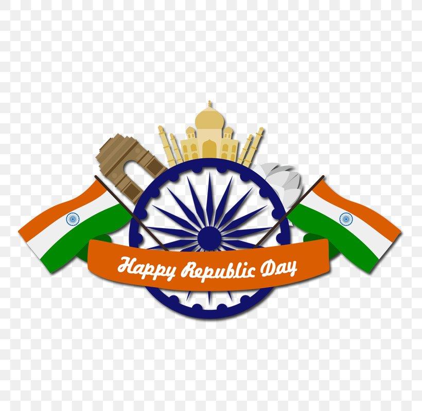 Republic Day sticker