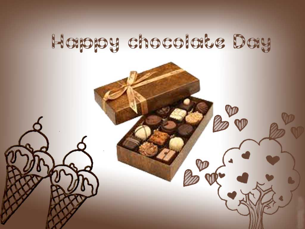Chocolate Day Wallpaper