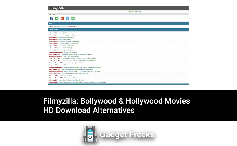 Filmyzilla 2020 Download Bollywood Hollywood Movies Hd Download