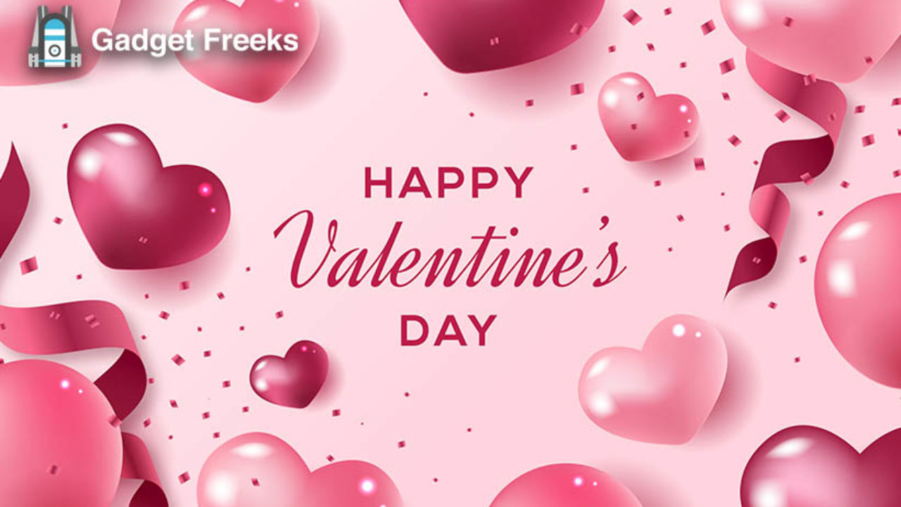Happy Valentines Day 2020 GIF Animation 3D