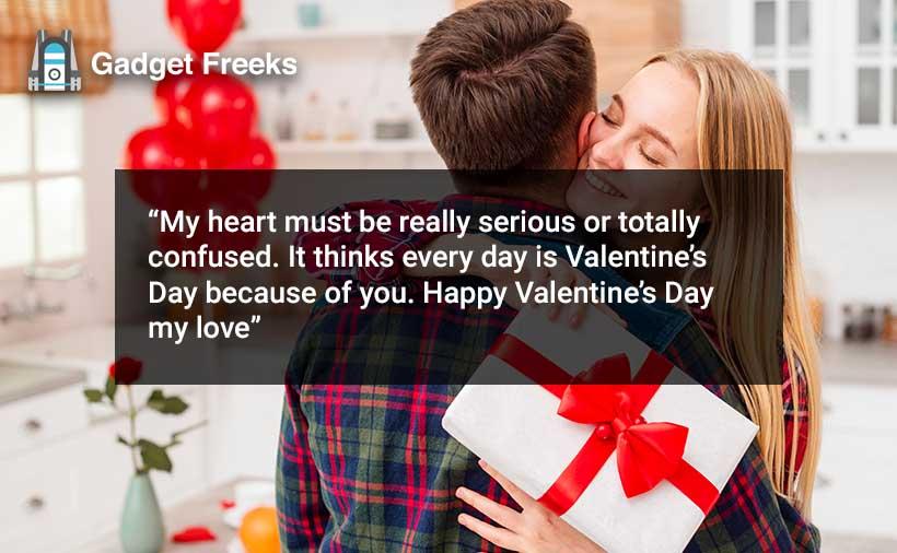 Valentine's Day Wishes for Girlfriend & Boyfriend