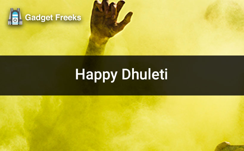 Happy Dhuleti Images HD