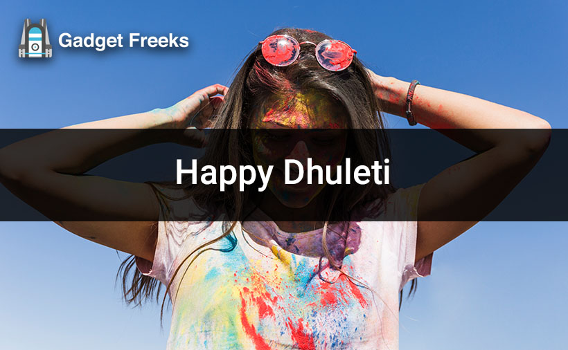 Happy Dhuleti Status