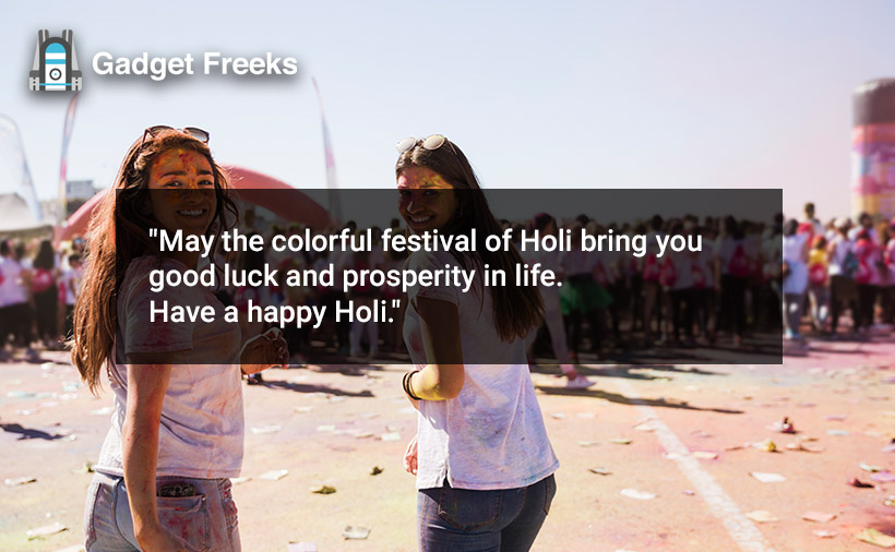 Happy Holi Short Status