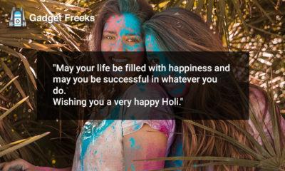 Happy Holi Status