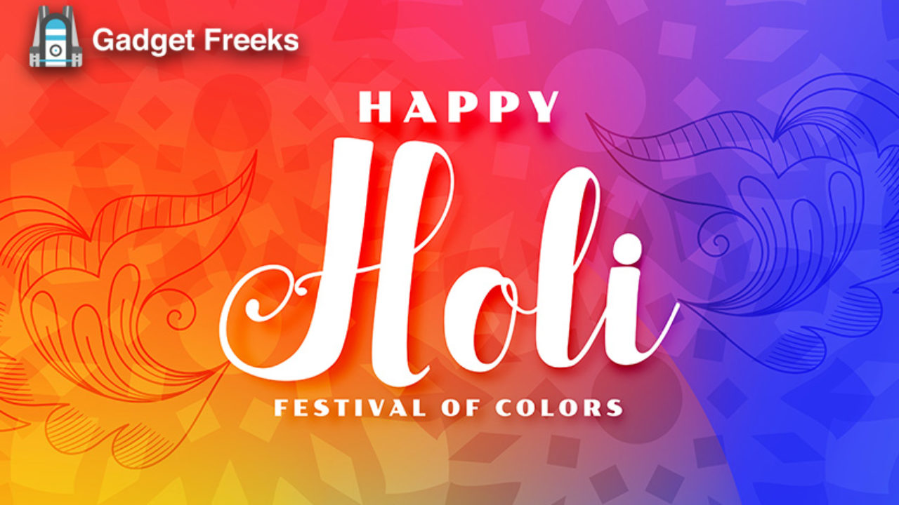 Happy Holi 2020 Stickers Wallpapers Colourful Images Hd Free