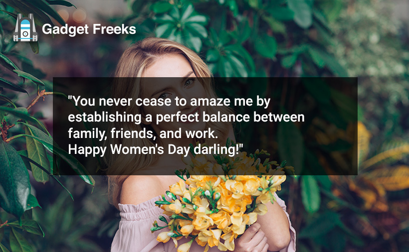 Happy Womens Day Messages