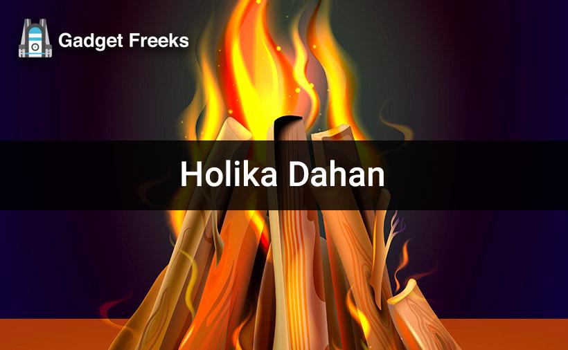 Holika Dahan Greetings
