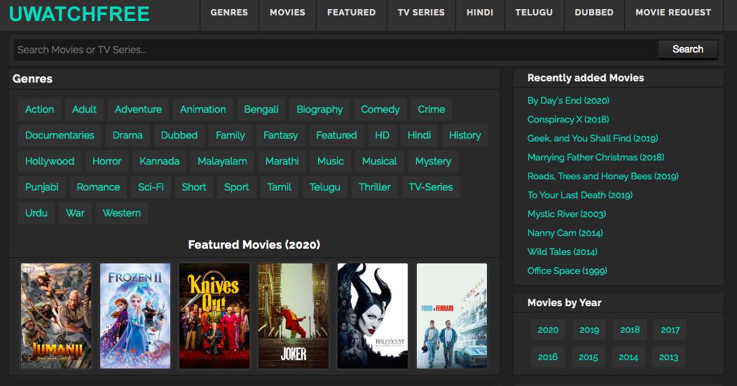 Uwatchfree 2020 480p 720p 300mb Hindi Dubbed Dual Audio Movies
