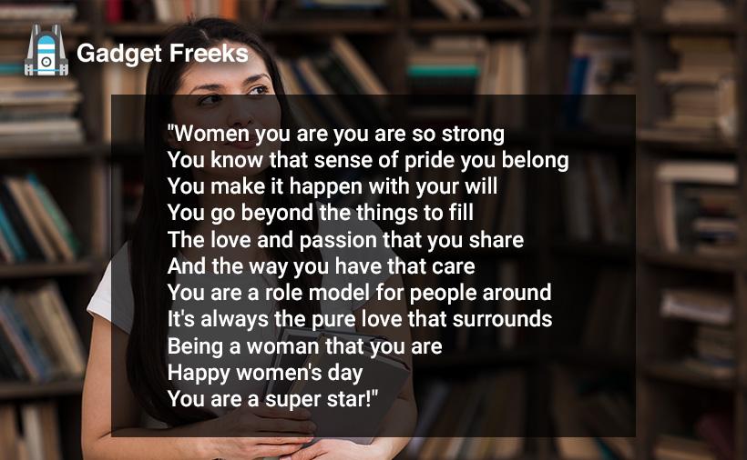 Women's Day 2020 Poems
