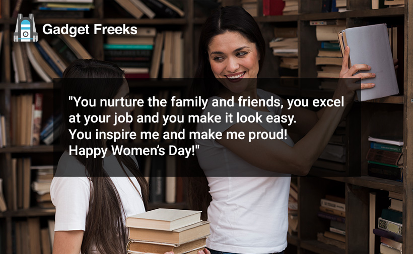Women's Day Wishes for Friends & Family