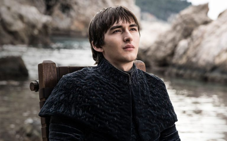 Bran Stark played by Isaac Wright