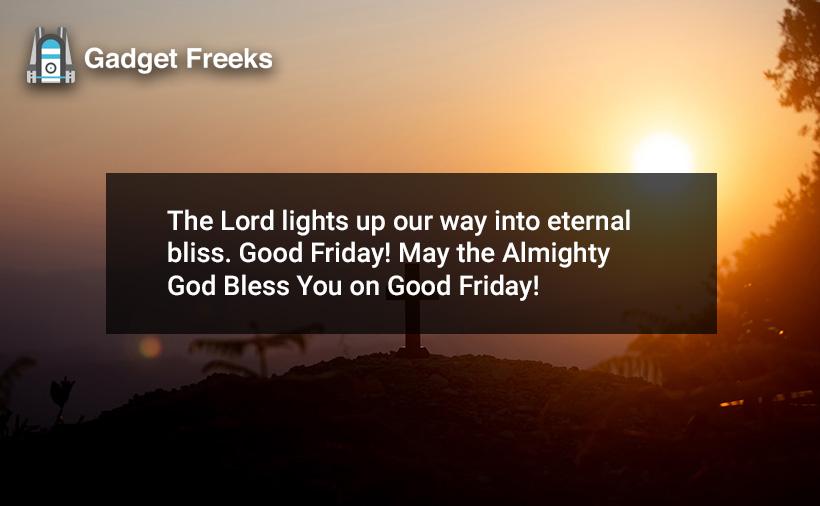 Good Friday 2 Line Status