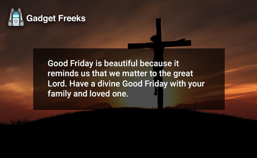 Good Friday Captions