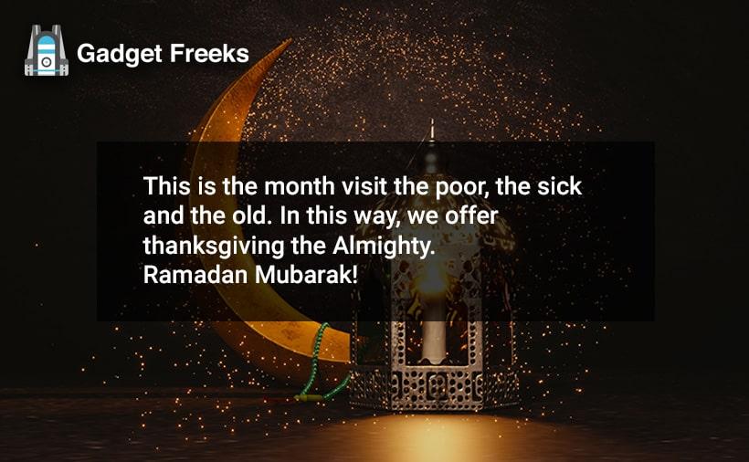 Happy Ramadan Status