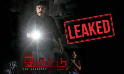 Iruttu Full Movie Leaked On Tamilrockers