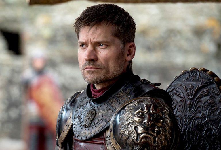 Jaime Lannister played by Nikolaj Coster-Waldau