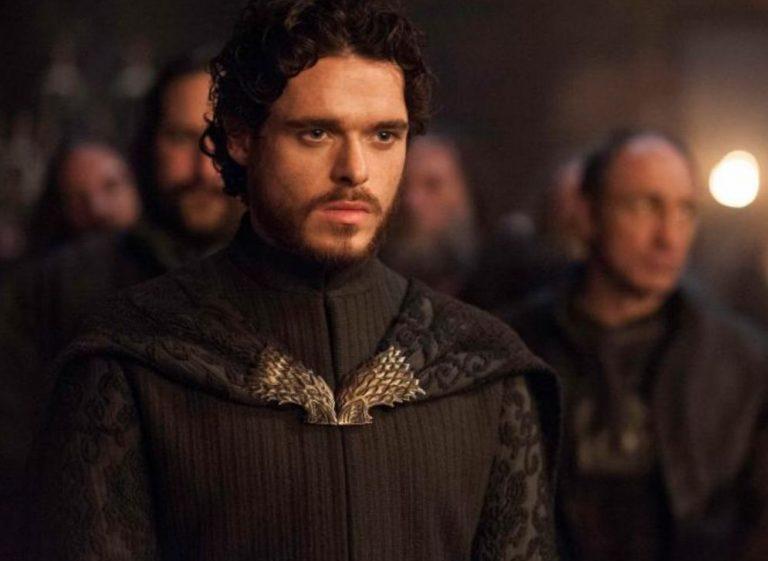 Robb Stark played by Richard Madden