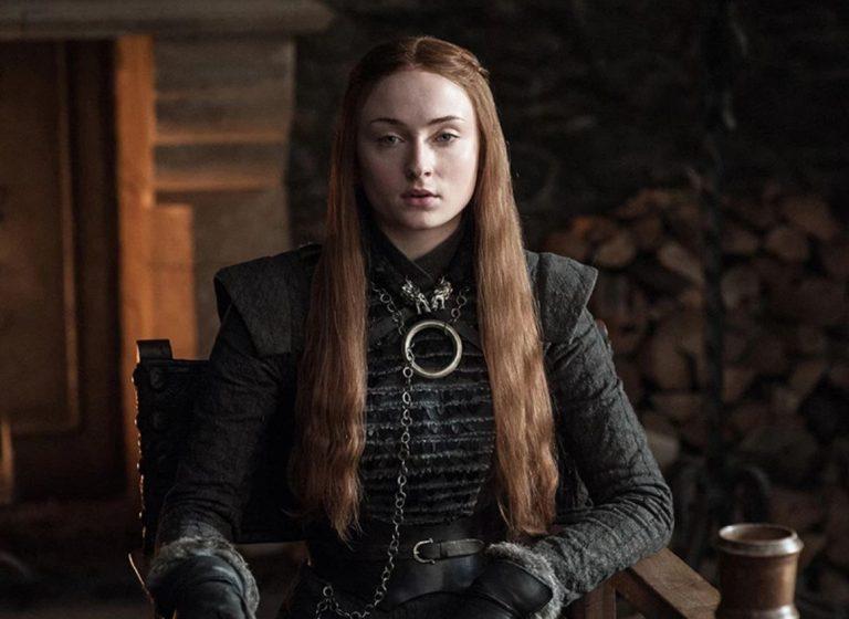 Sansa Stark played by Sophie Turner
