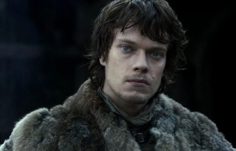 Theon Greyjoy played by Alfie Allen
