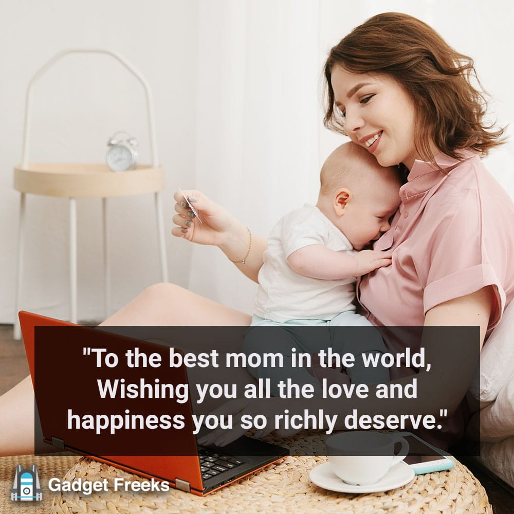 Mother's Day Wishes from Child